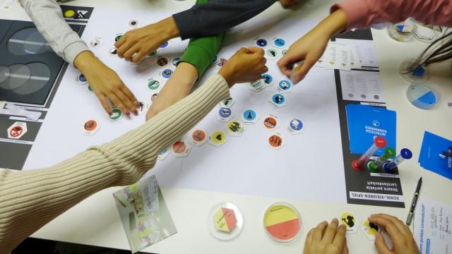 Die Planung unserer Schule der Zukunft.